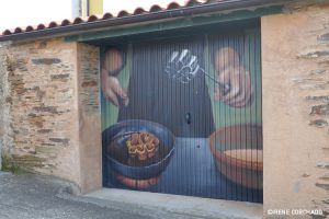 making floretas_Romangordo, Extremadura